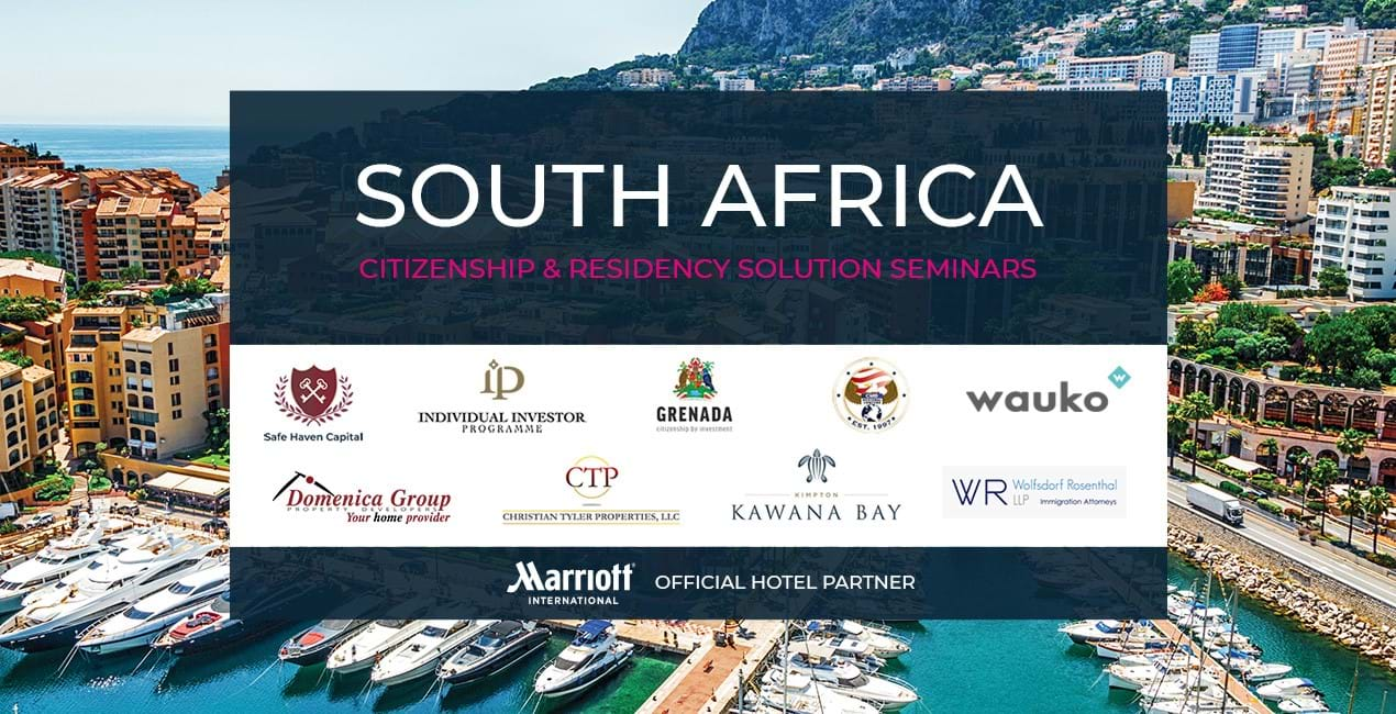 Latitude to present Citizenship & Residency Investment seminars in South Africa