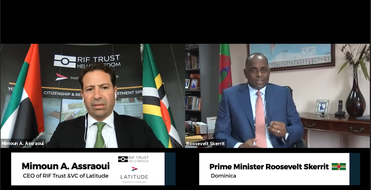 Latitude hosts Prime Minister of Dominica over a Citizenship by Investment Programme Webinar